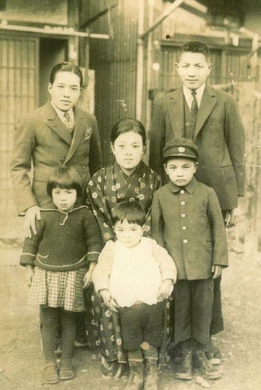 ひいおじいちゃんの家族